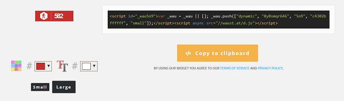 whos amung us create widget