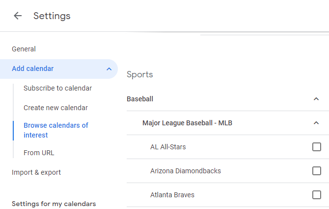 Google Calendar Sports Schedule