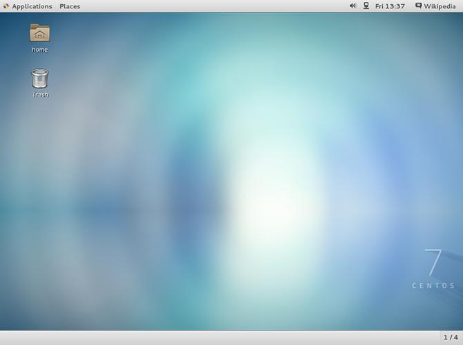CentOS 7 GNOME Desktop Environment