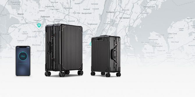 The NOVI Smart Luggage Is Trackable, Self-Weighing, and Super Affordable