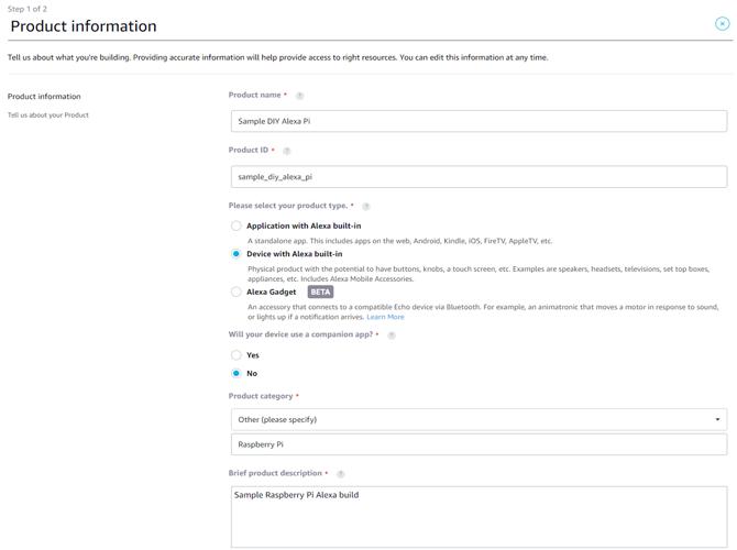 Amazon Developer Account Registration Process Screen