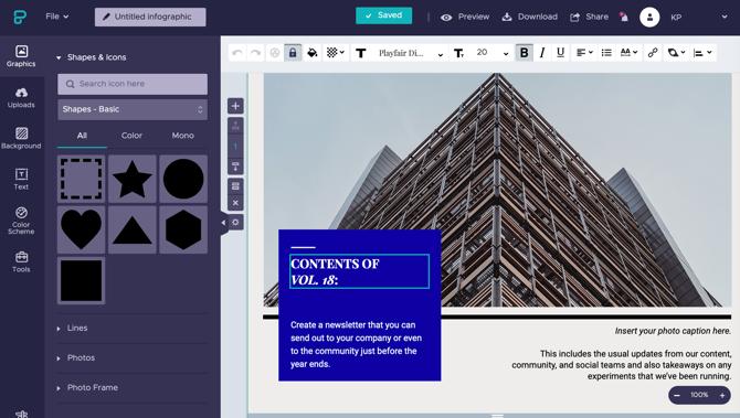 Best Free Tools to Make Infographics Online | Buraqq