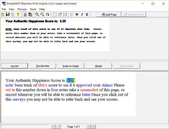 extract text from image software free download