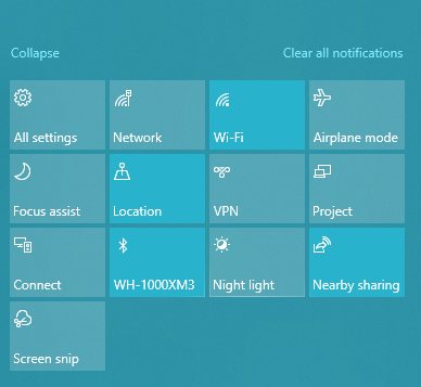 Windows 10 airplane mode