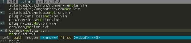 CtrlP for Vim