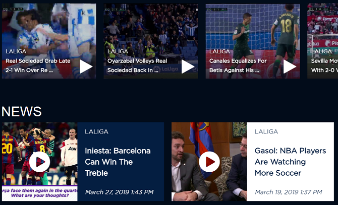 The 7 Best Live Sports Streaming Sites