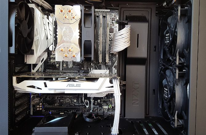 Pc Cable Management Finished Build