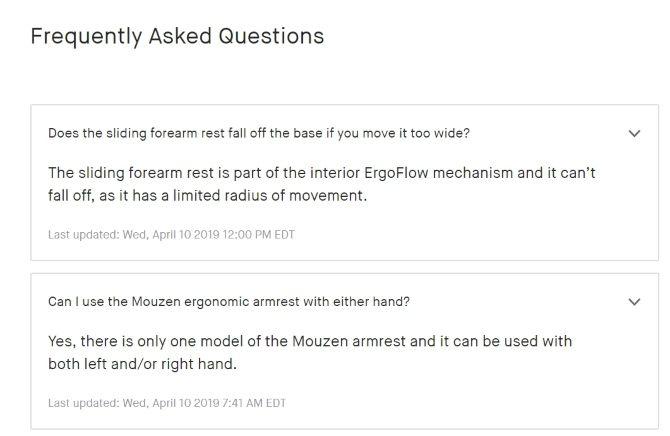 Crowdfunding FAQ Example Communication