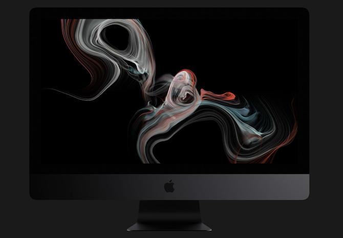 The iMac Pro looks elegant