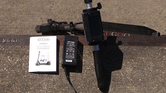 Kugoo S1 Charger and Manual