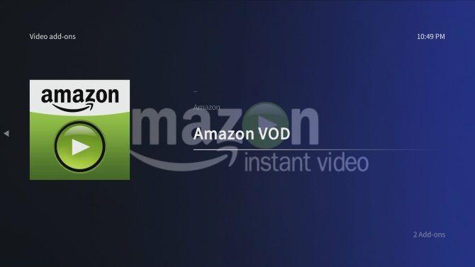 Install Amazon VOD on Raspberry Pi with Kodi