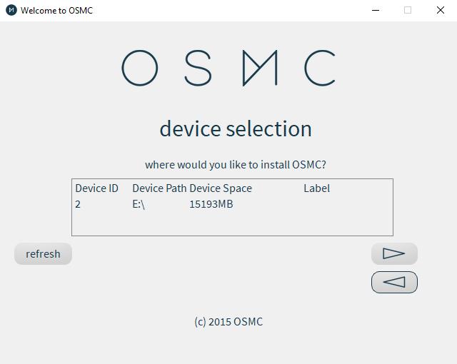 Install OSMC on your Raspberry Pi
