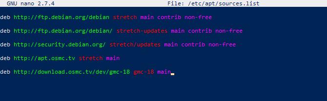 Downgrade OSMC to install Netflix