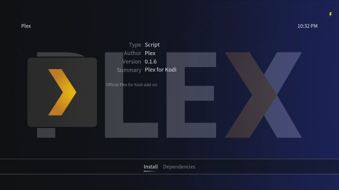 Install Plex client software on Raspberry Pi