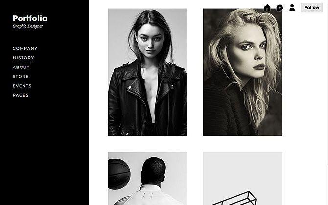 Portfolio Sites---Tumblr