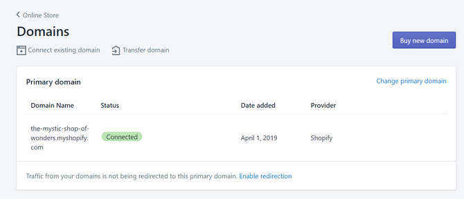 Shopify Domains Pricing Options