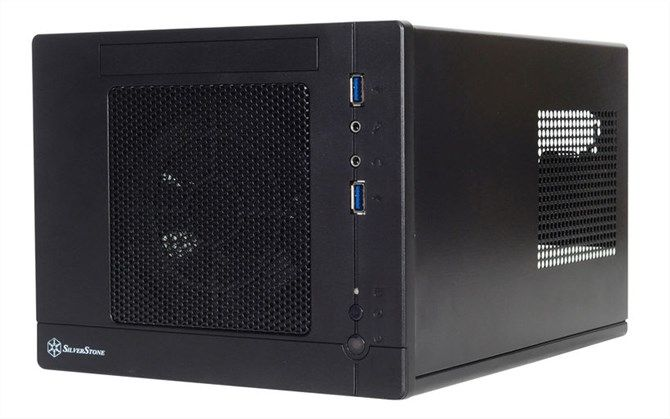 This is a picture of the Silverstone Sugo Mini-ITX computer case.