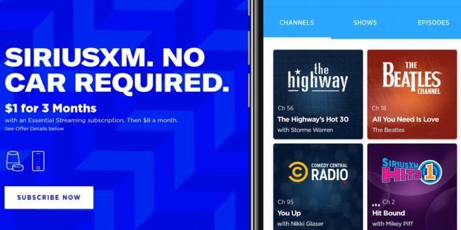 SiriusXM Essential Means You No Longer Need a Car