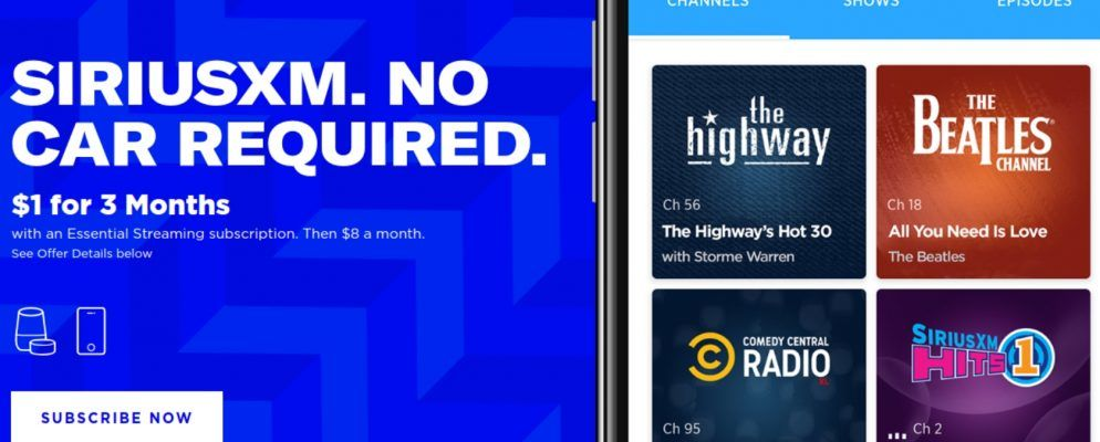 Siriusxm Cancel Subscription >> Siriusxm Essential Means You No Longer Need A Car