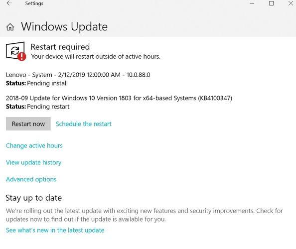Windows Update Online Banking Security