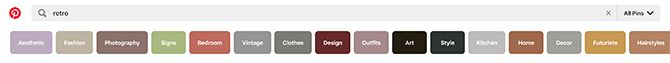 What Is Pinterest Search Bar