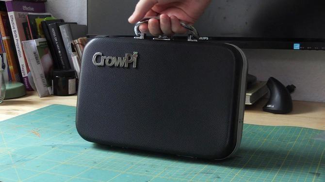 The CrowPi has a decent build quality