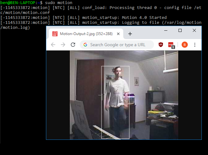 Linux Motion Camera Software