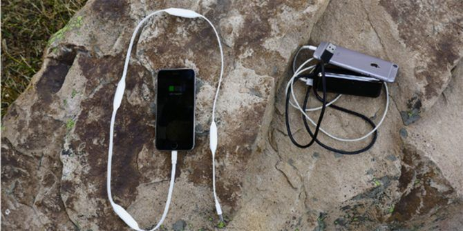 Portal Cord is a Charger Cable With a Power Bank Hiding Inside