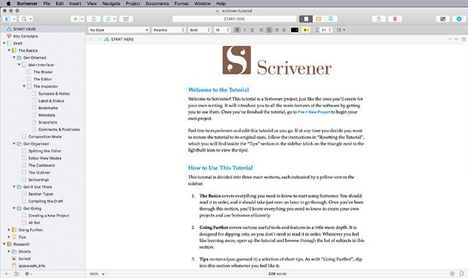 Best Programs for Creative Writers Scrivener
