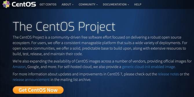 CentOS website