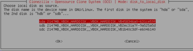 How to Use Clonezilla to Clone Your Windows Hard Drive clonezilla select drive