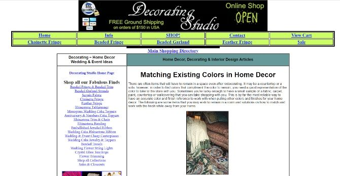 interior design and decorating online courses online