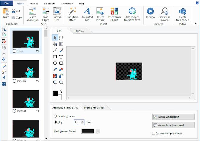 Easy GIF Animator Windows app