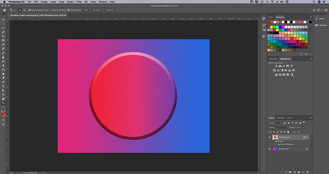 How to Create a Custom Color Palette in Photoshop Starting Page