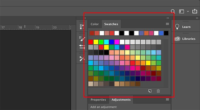How to Create a Custom Color Palette in Photoshop Color Swatches Panel