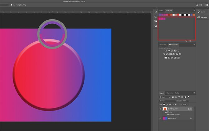 How to Create a Custom Color Palette in Photoshop Add More Colors