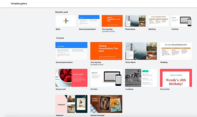 How to Create a Presentation Google Slides Template Gallery