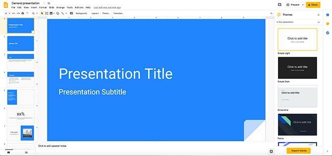How to Create a Presentation Google Slides Workspace