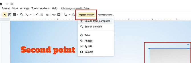 How to Create a Presentation Google Slides Replace Image