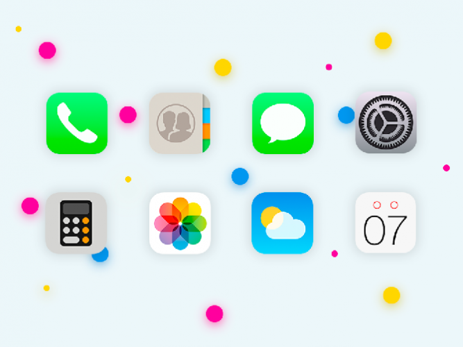 ios icons android