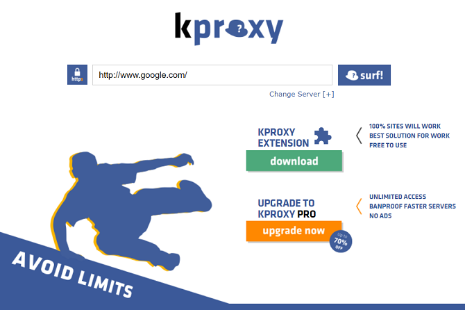 kproxy home