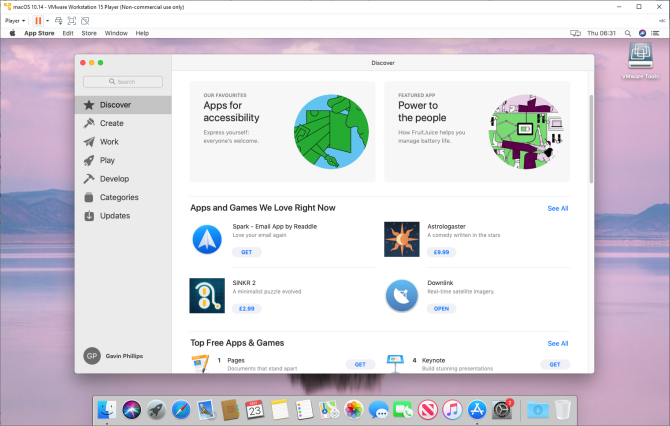 macos apps windows 10 app store