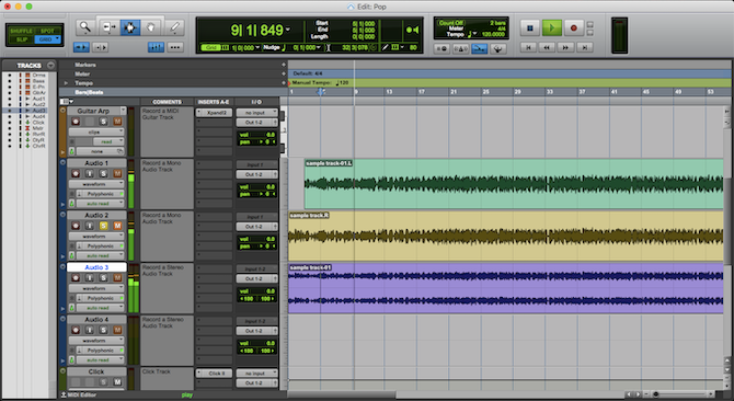 audio editing software for mac os x free