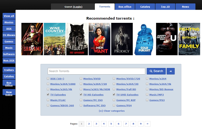 top torrent site in india