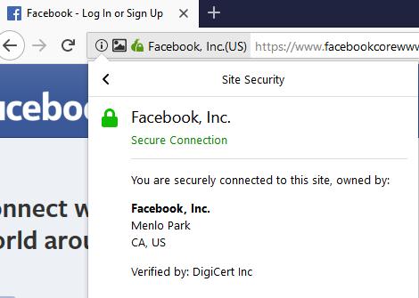 tor browser facebook onion digicert