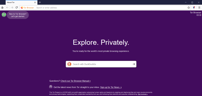 tor browser home page