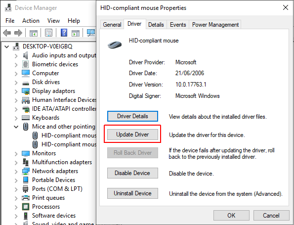 Hcmon driver Windows 10