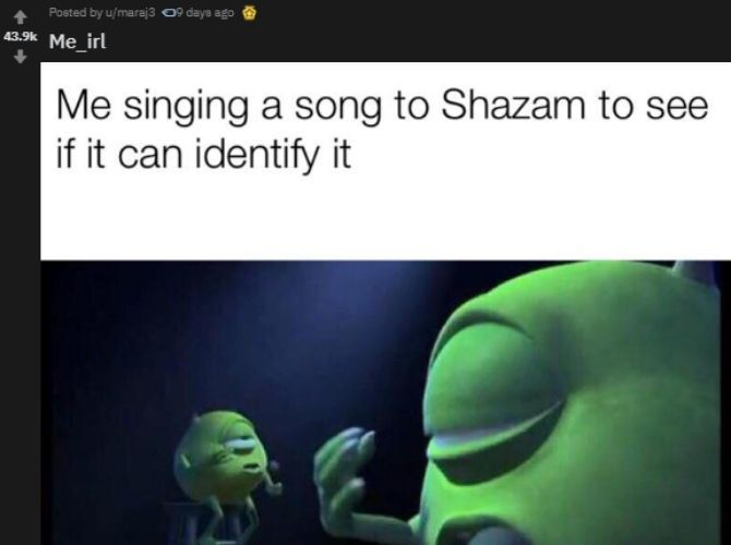 Me IRL Reddit Meme