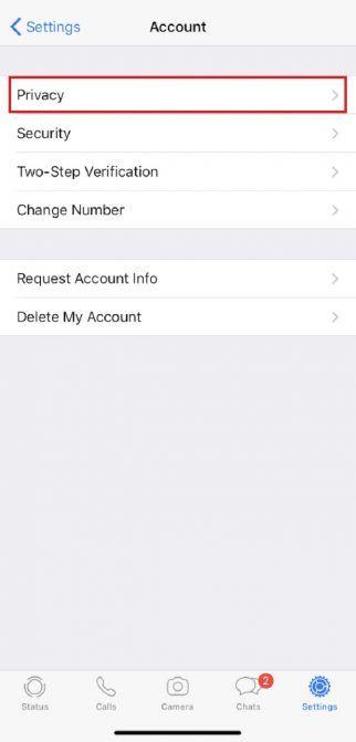 whatsapp status info