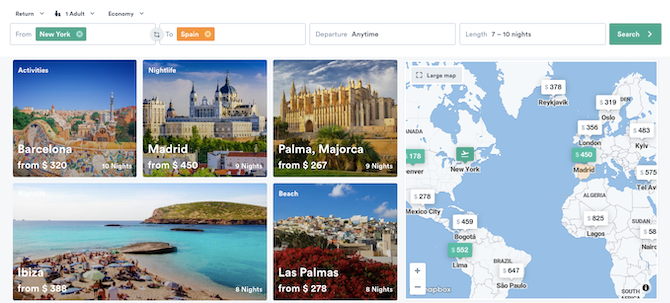 How to find cheap international flights with Kiwi's Anytime feature